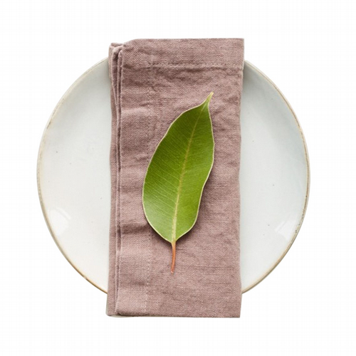Linen Napkins Set Of 2 - Ashes Of Roses
